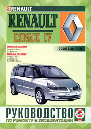 RENAULT ESPACE IV (РЕНО